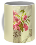 Roses In Watering Can Coffee Mug