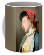 Rotari's A Sleeping Girl Coffee Mug