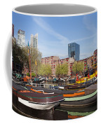 Rotterdam Cityscape In Netherlands Coffee Mug