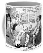 Rowlandson: Quack Doctor Coffee Mug