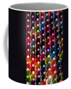 Rows Of Multicolored Crayons  Coffee Mug