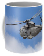 Royal Navy Eh-101 Merlin In Flight Coffee Mug