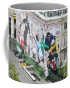 Rugby In Paris Coffee Mug