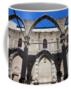 Ruins Of Carmo Convent In Lisbon Coffee Mug