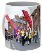 Rye Olympic Torch Relay Parade Coffee Mug