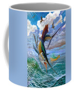 Sailfish And Lure Coffee Mug