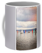 Sailing On Marine Lake A Reflection Coffee Mug
