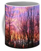 Red Sky In Morning Coffee Mug