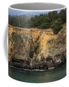 Salt Point Cliffs Coffee Mug