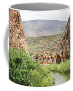 Salt River Above Roosevelt Lake Coffee Mug