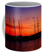 San Diego Harbor Sunset Coffee Mug