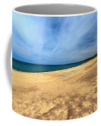 sandy beach in Piscinas Coffee Mug