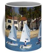 Santa Barbara Harbor Yacht Race Coffee Mug