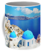 Santorini Island, Greece, Beautiful Coffee Mug