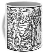 Satan & Sorcerer, 1626 Coffee Mug