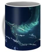 Satellite View Of Turks And Caicos Coffee Mug