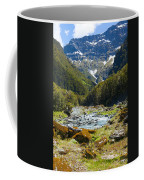 Scenic Valley In New Zealand Coffee Mug