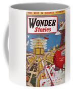 Science Fiction Cover, 1934 Coffee Mug