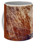 Scratched Wood Texture Coffee Mug