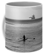 Sculling On The Bay Coffee Mug