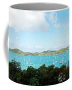 Sea Of Sailboats Coffee Mug