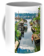 Seattle Houseboats Coffee Mug