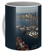 Seattle Skyline And South Industrial Area Coffee Mug