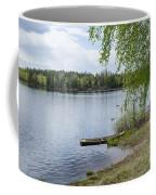 Serene Lake View Coffee Mug