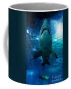 Shark Silhouette Underwater Coffee Mug