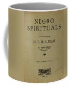 Sheet Music Spiritual Coffee Mug