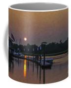 Sunset Life On Shem Creek  Coffee Mug