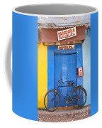 Shop On Street In Goa India Coffee Mug