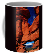Siamese Twins Rock Formation At Garden Of The Gods Coffee Mug