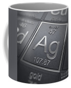 Silver Chemical Element Coffee Mug