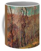 Silvery Tangle Coffee Mug