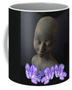 Simplicity In Purple Coffee Mug