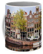 Singel Canal Houses In Amsterdam Coffee Mug