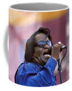 Singer James Brown Coffee Mug