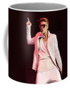 Singer Justin Bieber Coffee Mug