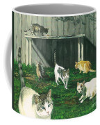 Six Cats Coffee Mug