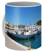 Skiathos Town Harbour Coffee Mug