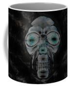 Skull In Negative Coffee Mug