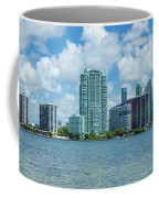 Skylines At The Waterfront, Miami Coffee Mug