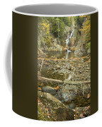 Smalls Falls In Autumn Western Maine Coffee Mug
