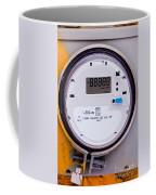 Smart Grid Residential Digital Power Supply Meter Coffee Mug
