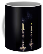 Smoking Candle Coffee Mug by Amanda Elwell