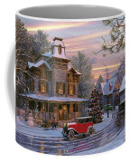 Snow Streets Coffee Mug by Dominic Davison