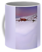 Soft Snow At Sunset Coffee Mug