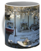 South Bristol And Fishing Boats On The Coast Of Maine Coffee Mug by Keith Webber Jr