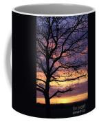 Spectacular Sunset Epsom Downs Surrey Uk Coffee Mug